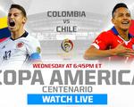 TRỰC TIẾP Colombia - Chile: Chờ đợi chung kết trong mơ (7h00, 23/6)