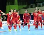 Futsal Việt Nam ngất ngây với thành tích tiến vào World Cup