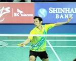 Tiến Minh bỏ lỡ cơ hội tích điểm ở giải Malaysia mở rộng