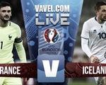 Những con số thống kê trước trận tứ kết EURO 2016, Pháp - Iceland (2h00 ngày 4/7 trên VTV3 & VTV3HD)