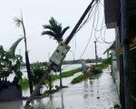 Nhiều tỉnh mất điện hoàn toàn vì bão số 1