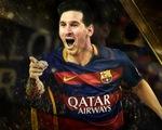 Lionel Messi lập kỷ lục 5 lần giành giải thưởng Quả bóng Vàng FIFA
