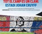 Barcelona sẵn sàng xóa sổ Camp Nou vì Johan Cruyff