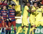 Ông kẹ Barcelona đánh rơi chiến thắng trước Villareal trong 5 phút