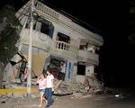 Động đất 7.8 độ richter tại Ecuador, cảnh báo nguy cơ sóng thần