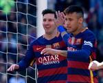 Neymar, Messi lên đồng, Barcelona độc chiếm ngôi đầu La Liga