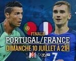 Chung kết EURO 2016, Pháp – Bồ Đào Nha: Ronaldo và đồng đội lép vế trước chủ nhà