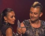 Americas Got Talent: Giám khảo thót tim với màn phi dao ở bán kết