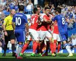 TRỰC TIẾP Arsenal 0-1 Chelsea (H1): Mertesacker nhận thẻ đỏ, Costa mở tỷ số