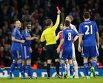 Hung thần Diego Costa lần thứ 2 liên tiếp khiến Arsenal dính thẻ đỏ