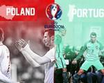 Lịch trực tiếp tứ kết EURO 2016 hôm nay: Ba Lan – Bồ Đào Nha (VTV3 & VTV3HD)