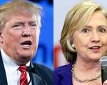 Phản đối Donald Trump, giới đầu tư tài chính Mỹ ủng hộ Hilary Clinton