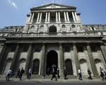 Ngân hàng Trung ương Anh giữ nguyên lãi suất cơ bản