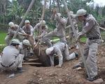 Phát hiện quả bom nặng 250kg khi đào giếng