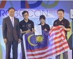 Malaysia đăng quang vô địch ABU Robocon 2016