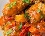 Gà sốt bơ cà chua - món ngon phải thử khi tới Philippines
