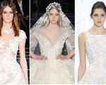 Những thiết kế váy cưới ấn tượng trên sàn diễn thời trang xuân hè 2016