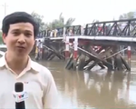 TP.HCM khắc phục sự cố sà lan đâm vào cầu Rạch Đĩa
