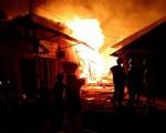Hỏa hoạn thiêu rụi 40 kiốt tại Lâm Đồng