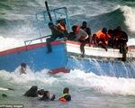 Lật thuyền, 400 người di cư thiệt mạng ở Địa Trung Hải