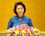 Bà Nguyễn Thị Kim Ngân tái đắc cử Chủ tịch Quốc hội khóa XIV