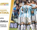 Lịch trực tiếp tứ kết Copa America 2016: Argentina dễ thở, Mexico đụng Chile