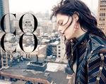 Coco Rocha tỏa sáng trên Harpers Bazaar tháng 8