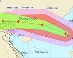 13h ngày 2/8, bão số 2 vào đất liền Trung Quốc