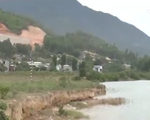 Sạt lở sông Cu Đê uy hiếp công trình điện quốc gia