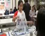 Thú vị cuộc thi xếp cốc quốc tế tại Đức
