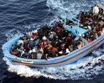 Italy giải cứu gần 2.000 người di cư trên biển Địa Trung Hải