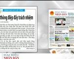 Thông điệp của Thủ tướng Nguyễn Xuân Phúc - Tâm điểm báo chí trong nước