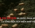4,8 triệu người Việt Nam bị ảnh hưởng trực tiếp bởi chất độc da cam/dioxin
