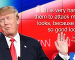 Ông Donald Trump thấy mình quá đẹp trai