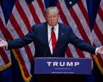 Tỷ phú Donald Trump trở thành ứng viên Tổng thống duy nhất của Đảng Cộng hòa