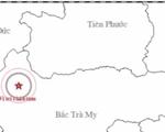 Động đất 3,2 độ richter tại Sông Tranh, Quảng Nam