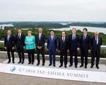 G7 quan ngại về tình hình ở Biển Đông