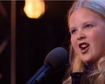 """Britains Got Talent: """"Nổi da gà"""" với cô bé 12 tuổi hát nhạc kịch siêu hay"""