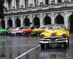 Ngất ngây với dàn xe cổ siêu đẹp trên đường phố Cuba