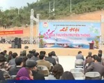 Tưng bừng lễ hội đua thuyền truyền thống vùng lòng hồ sông Đà