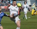 Ibrahimovic vượt mốc 100 bàn khi đăng quang cùng PSG