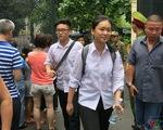 Thi lớp 10 THPT tại Hà Nội: Thí sinh phấn khởi vì môn Toán dễ thở