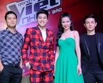 Noo Phước Thịnh - Đông Nhi rạng rỡ tại họp báo ra mắt Giọng hát Việt nhí 2016
