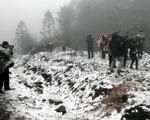 Từ chiều tối nay, Sa Pa có mưa tuyết