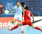 Thất bại nặng nề trước Iran, ĐT futsal Việt Nam tranh hạng 3 với Thái Lan
