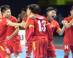 Xem lại màn vượt cạn khó tin của Futsal Việt Nam trước ĐKVĐ Nhật Bản