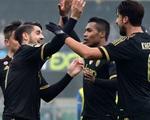 Morata lại tỏa sáng, Juventus lên ngôi đầu Serie A