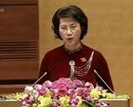 VIDEO Lễ tuyên thệ nhậm chức của Chủ tịch Quốc hội khóa XIV Nguyễn Thị Kim Ngân