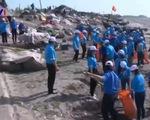 Hơn 1.000 đoàn viên thanh niên tham gia chiến dịch làm sạch biển