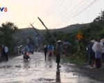 Lâm Đồng: Mưa đá, gió lốc làm hư hại nhiều nhà dân